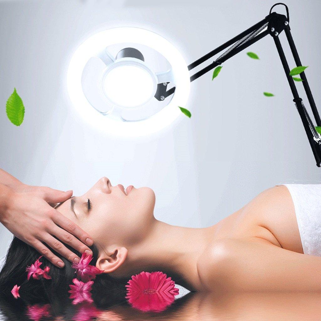 Farbe : SCHWARZ FORWIN Stehleuchte Led Kaltlicht Sch/önheit Licht Tattoo Vertikale Stehlampe Nagel Sch/önheitssalon Kaltes Licht Lampen Innenbeleuchtung