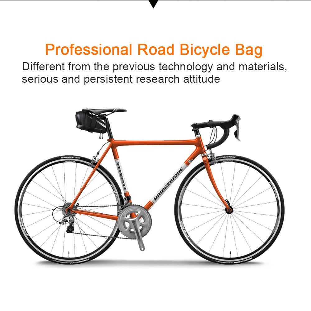 Roswheel Professional Road Bike Bag Bike Saddle Bag Bicycle Seat Storage Bags by Roswheel (Image #5)