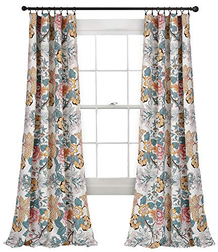 Lush Decor Syndney Room Darkening Window Curtain Panel Pair 84