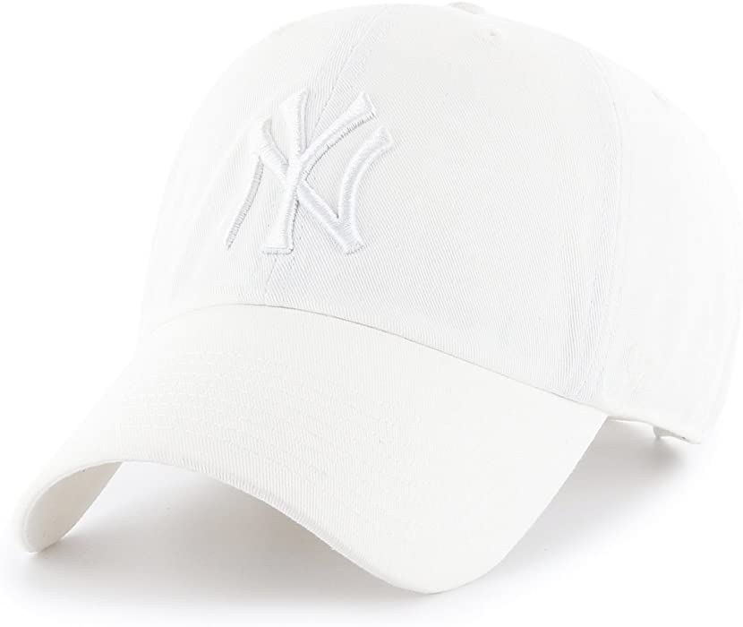 260bf8b300d31 Amazon.com   47 Brand New York Yankees Clean up MLB Dad Hat Cap ...