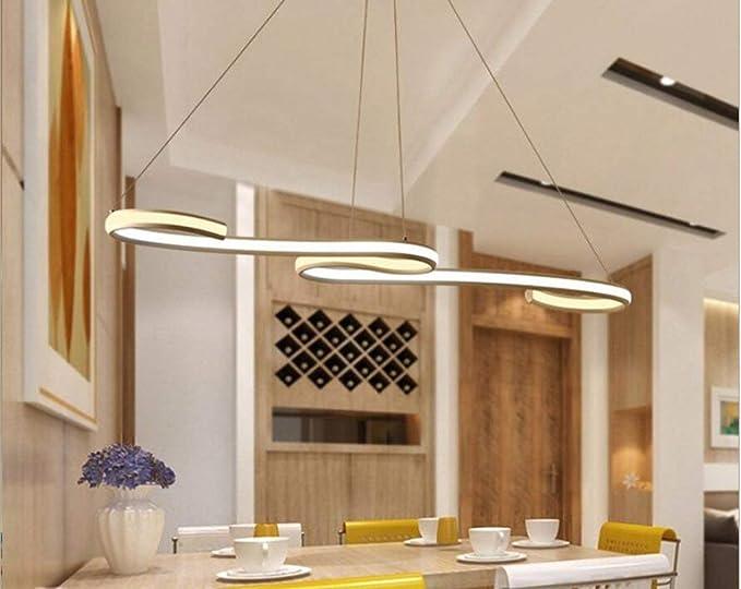 Plafoniere Con Lampadina A Vista : Moderno led lampadario sospeso w alluminio lampada a sospensione