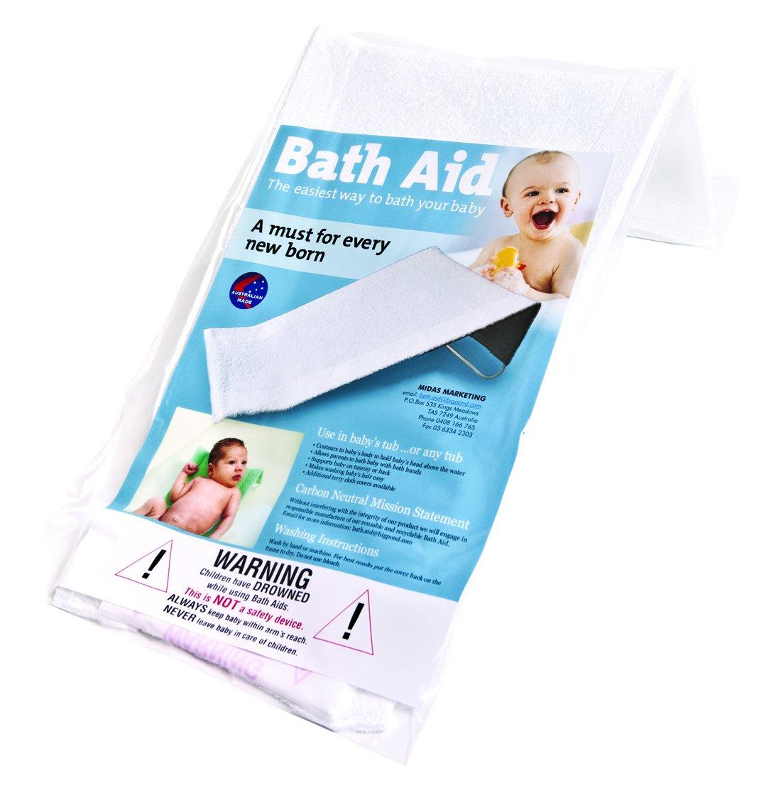 Babyrest Baby Bath Aid - White: Amazon.com.au: Baby