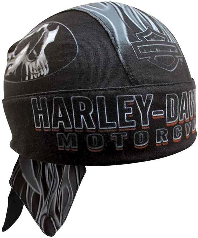"""gorra Harley-Davidson Headwrap /""""Black h-D/"""" pañuelo Cap Mesh * HW 51630 *"""