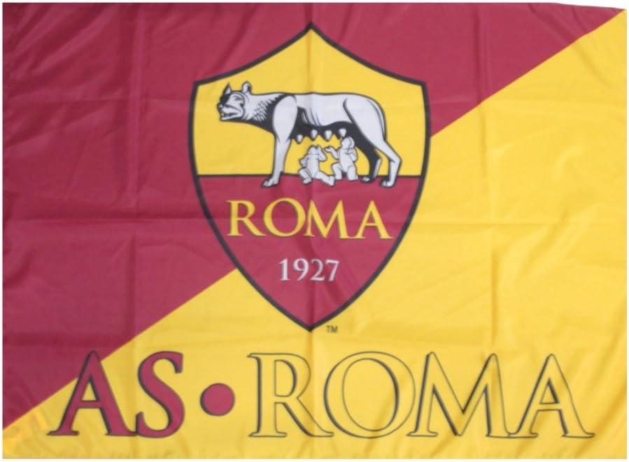 AS Roma Bandera oficial mágica grande cm.100 x 150 Flag Official: Amazon.es: Deportes y aire libre