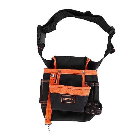 8 bolsillos impermeables para cinturón, bolsa de ...
