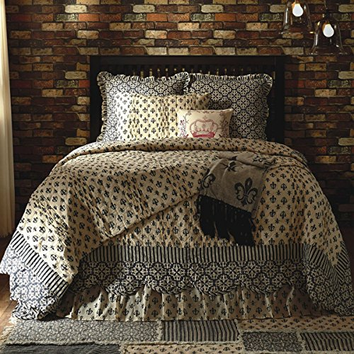 Victorian Heart Elysee Queen Quilt Bundle - 4 Piece Set. ...