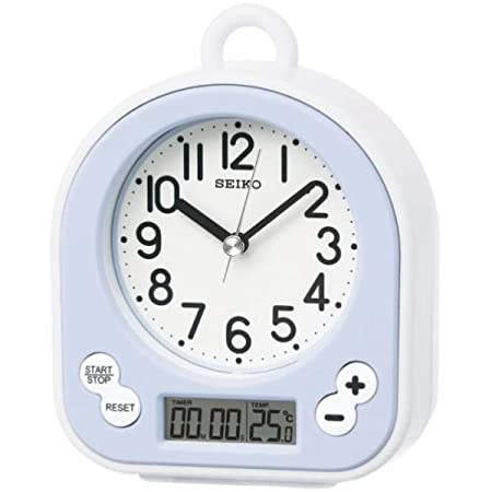 seiko splash resistant bathroom alarm clock plastic white amazon rh amazon co uk bedroom alarm clocks silent tick bedroom alarm clock radio