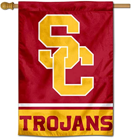 University of Southern California Trojans Doubled Sided House Flag