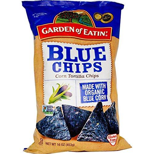 rn Tortilla Chips, Blue Chips, 16 oz(Pack of 1) ()