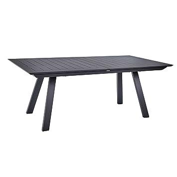 Ozalide Gartentisch ausziehbar 12 Personen Madrid – L. 200/300 cm ...