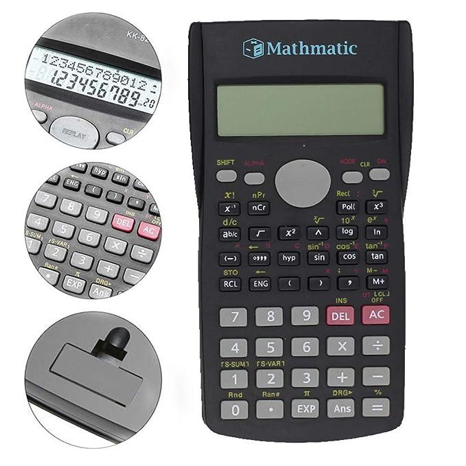 82MS-A Multifunktions-Digital-LCD-2-Zeilen-Display Scientific Calculator