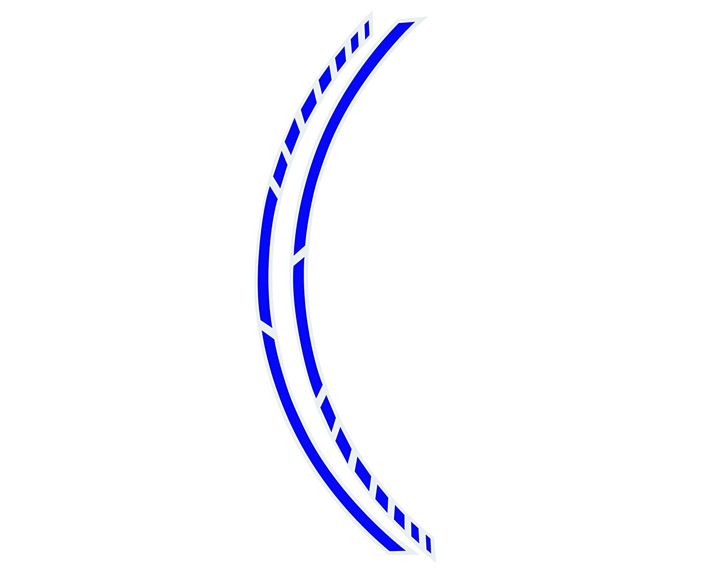 Foliatec 34447 PIN Striping Racing f/ür Motorr/äder Breite = 7mm:14 x 41 Neon Gelb