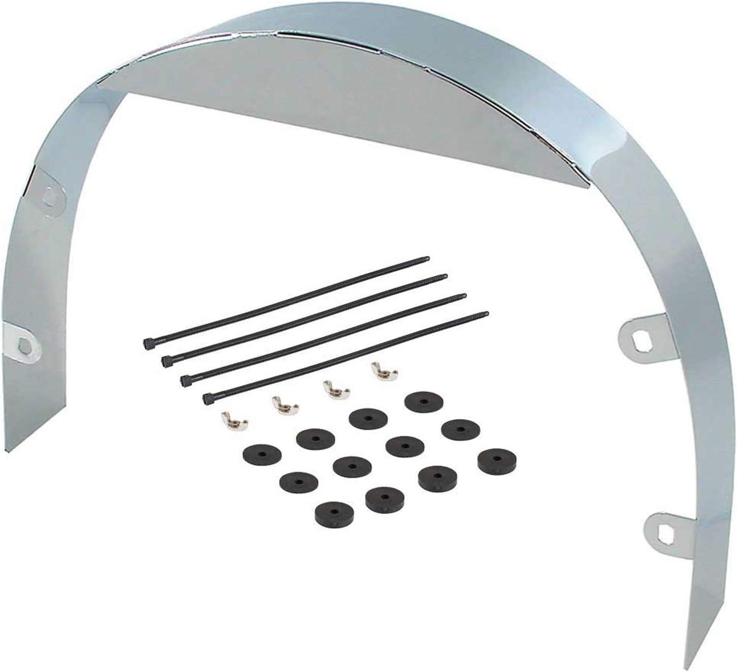 "Spectre Performance 4348 3"" Chrome Fan Shroud"