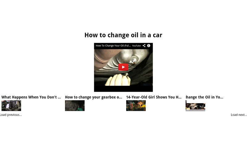how to do my own oil change