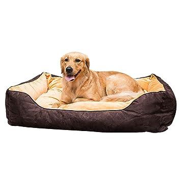 Cama para Perros, Cama de Lujo para Perros Grandes, sofá para Mascotas Orthopedi Lavable