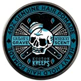 Kustom Kreeps Clothing Sailor's Grave Heavy Pomade, Whiskey scent