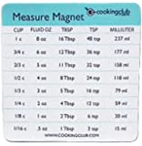 Cooking Club of America Measuring Conversion Refrigerator Magnet