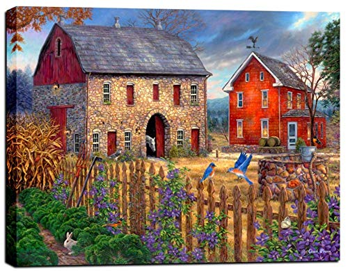 (Cortesi Home The Bluebirds' Song by Chuck Pinson, Giclee Canvas Wall Art, 26