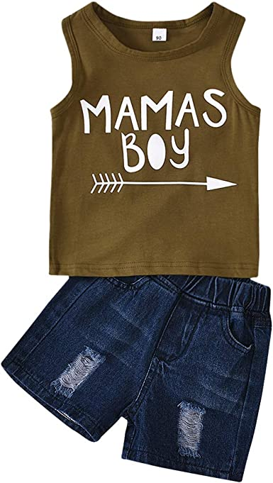 Fine 2Pcs Infant Baby Boys Girls Star Letter Tops Vest+Shorts Outfits Clothes Set