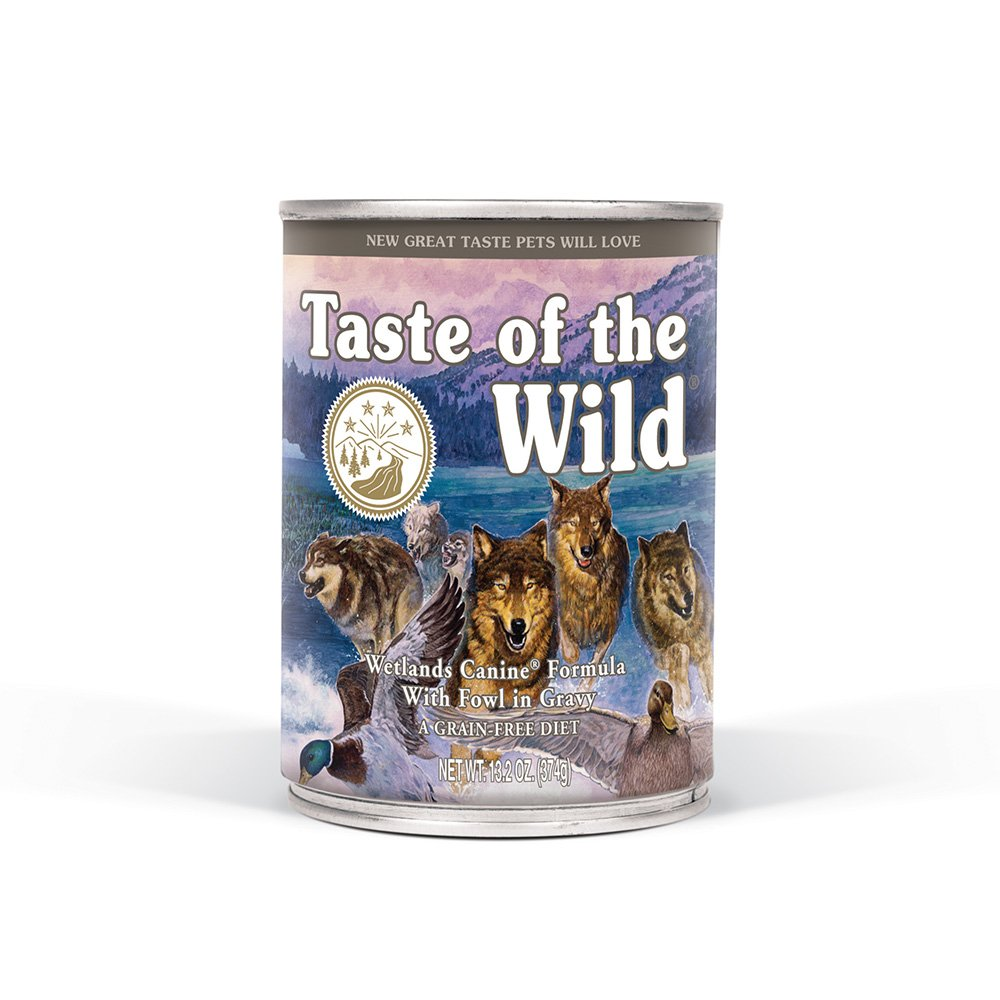 Taste of the Wild Grain Free High Protein Wet Canned Stew Dog Food with Natural Ingredients