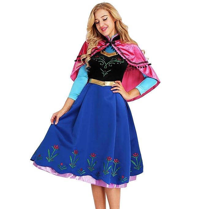 iiniim Disfraz de Princesa Mujer 2Pcs Conjunto de Disfaces ...