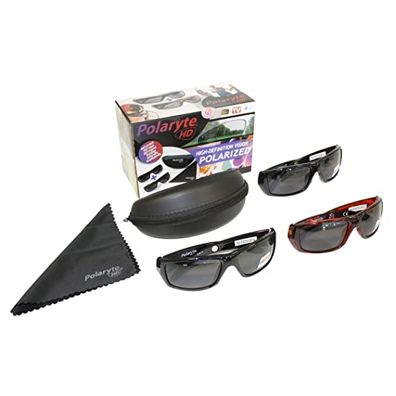 a86dd18508a853 Polaryte HD Sunglasses  Amazon.co.uk  Clothing