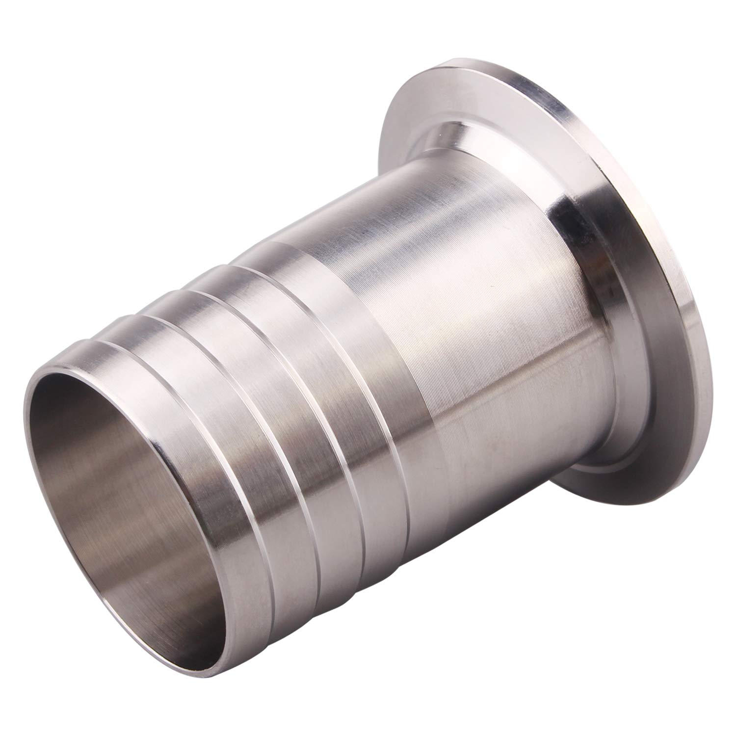 2 Tri Clamp to 1//2 Sanitary Rubber Hose Barb Pipe Fitting Stainless Steel SS304 1//2 Inch Hose Barb Adapter