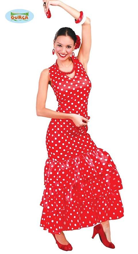 Guirca Costume vestito ballerina flamenco spagnola carnevale donna 84728 L ec57e1d4cfa