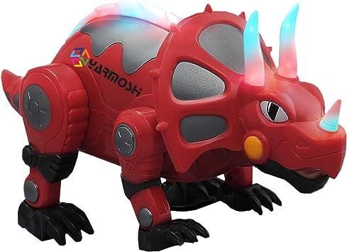 tricératops Marche Forme Dragon électrique dinosaures avec lumière