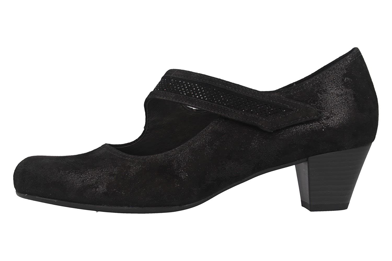 Gabor Comfort Basic Trotteur in Übergrößen Schwarz 86.147.97 große Damenschuhe Damenschuhe Damenschuhe 6c9131