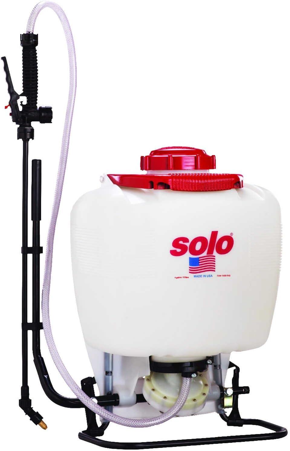 Solo 475-101 Backpack Sprayer, 4 Gallon