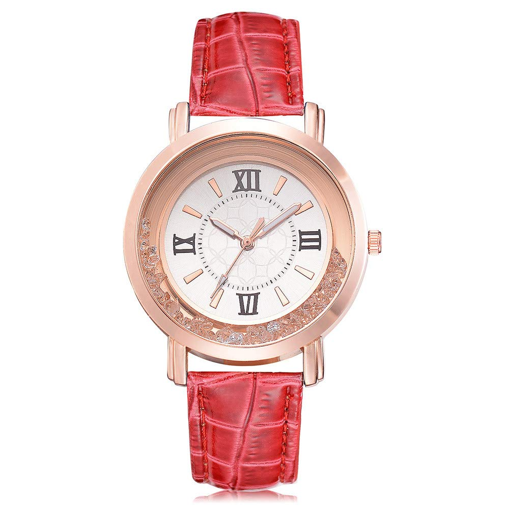 Women Watches On Sale,Teen Girls Analog Clearance Ladies Wrist Watch Fashion Watches for Women Comfortable Wristwatch