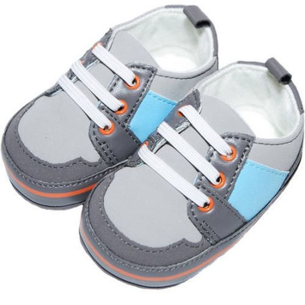 Child of Mine by Carters Newborn Baby Boy Retro Sneakers