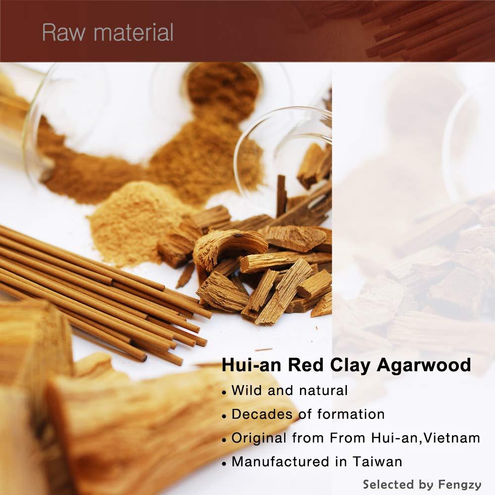 Fushankodo for Brand Incense Sticks -Natural Hoi-an Red Clay Agarwood Aloeswood - Origin Hoi-an Vietnam (135mm/5.3'') by Fushankodo (Image #2)