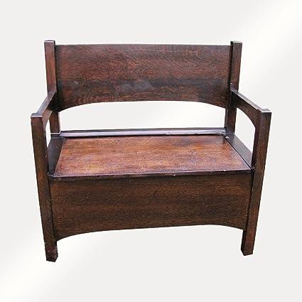 Marvelous Amazon Com Antique Michigan Chair Company Arts Crafts Lamtechconsult Wood Chair Design Ideas Lamtechconsultcom