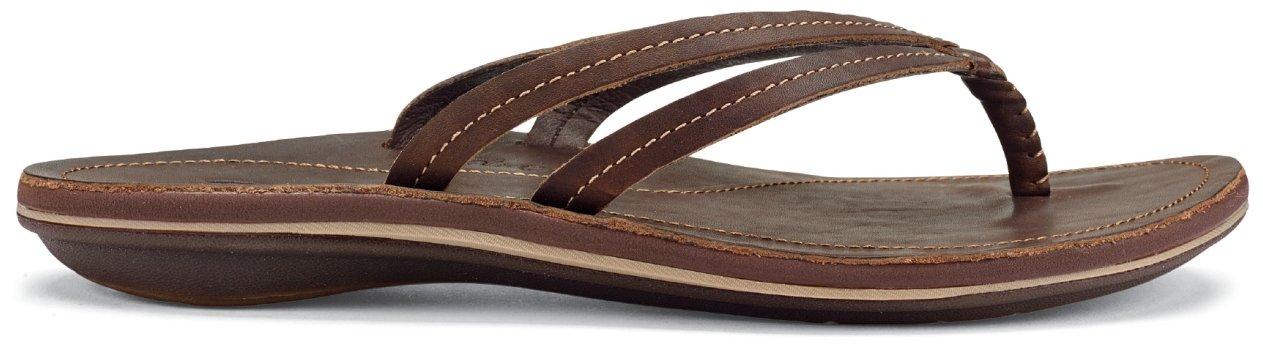 OLUKAI U'I Sandals - Women's B01HH8OTRW 8 B(M) US|Dark Java/Dark Java