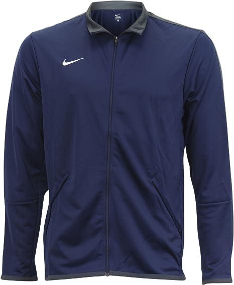 navegador Gasto Cena  Nike - Chaqueta para hombre, talla L, color azul marino y blanco:  Amazon.es: Deportes y aire libre