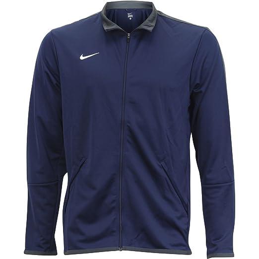 0cf7952e Nike Men's Mesh Stripe Long Sleeve Athletic Training Jacket at Amazon Men's  Clothing store:
