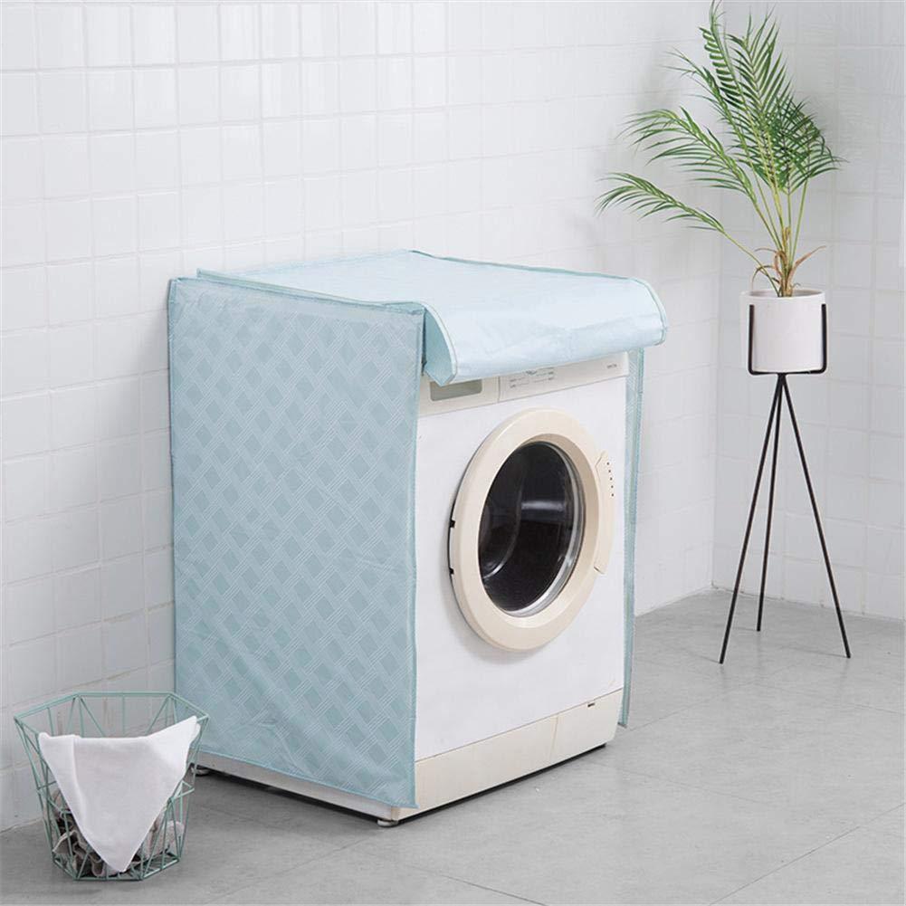 PEVA Waschmaschine Staubschutz f/ür Trommelwaschmaschine geeignet Wasserdichte Pulsatorwaschmaschine geeignet -Yves25Tate Sonnenschutz Trommel Waschmaschine Abdeckung