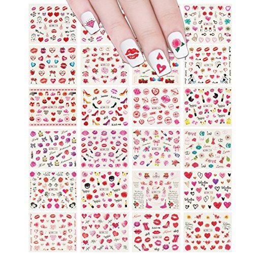 ALLYDREW 24 Sheets Valentine