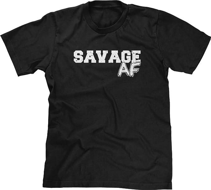 3d12d8c93b8e Amazon.com  Blittzen Mens T-Shirt Savage AF  Clothing