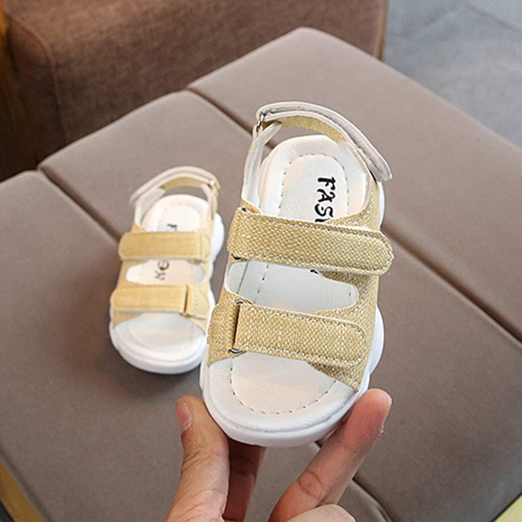 Baby Sandals Kids Toddler Infant Boys Girls Summer Outdoor Running Beach Fashion Casual Sandals Shoes Sneaker by LILICAT