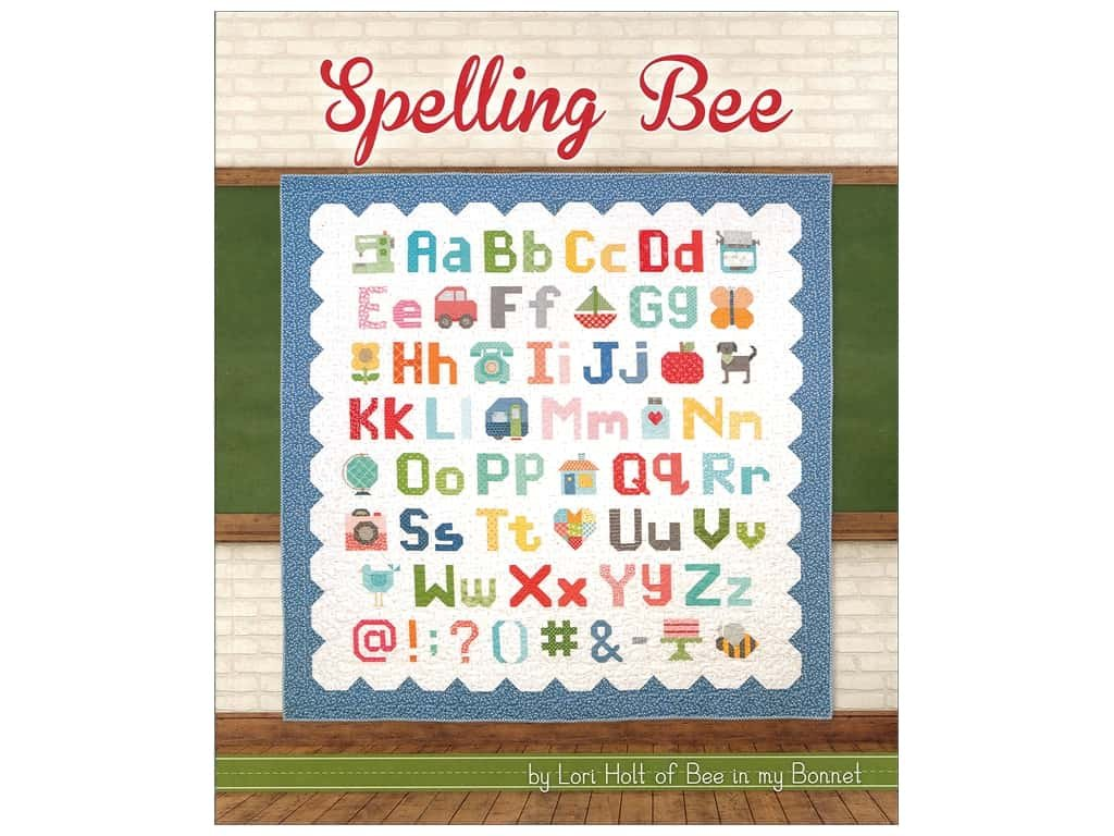 Spelling Bee Book Lori Holt Juli Stubbs Kimberly Jolly It' s Sew Emma