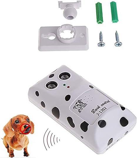 Humanely Ultrasonic Stop Control Dog Barking Anti No Bark Device Silencer Device