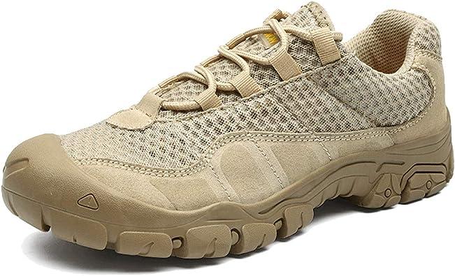 shiwu Zapatillas de Escalada de montaña para Hombre ...
