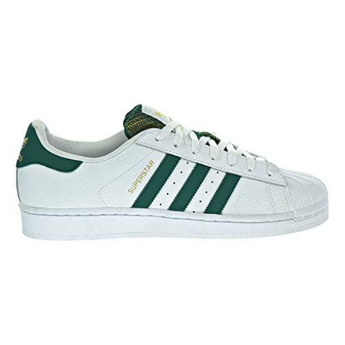 sale retailer e16c1 b0a69 adidas Originals Superstar Foundation, Scarpe Sportive Uomo, Bianco  (White Green Gold