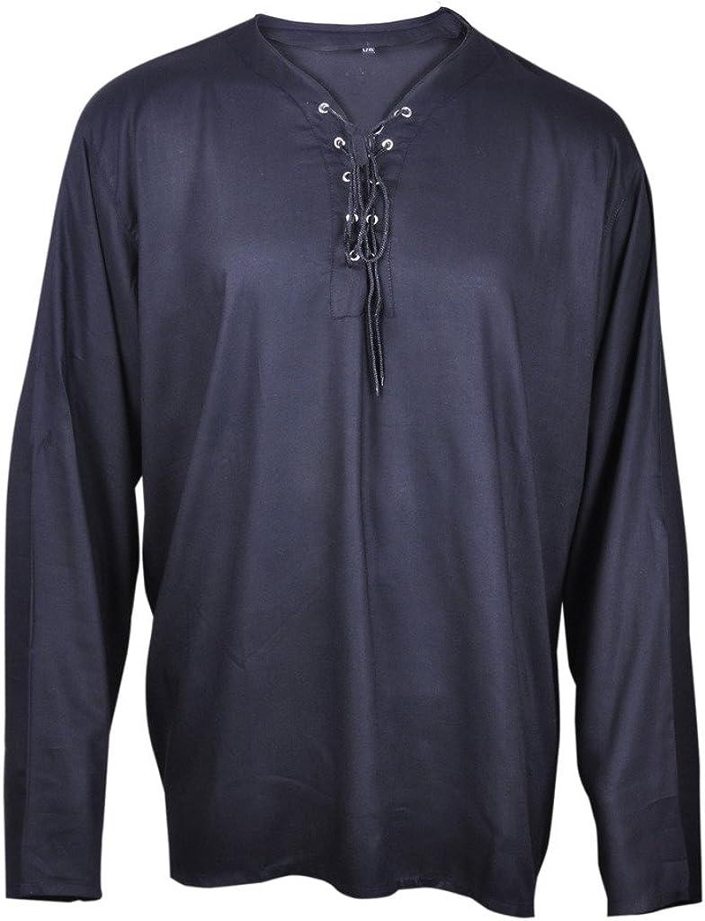 Casual Camiseta de Verano Renacimiento del Pirata Color ...