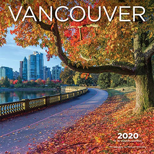 (Vancouver 2020 12 x 12 Inch Monthly Square Wall Calendar, Canadian Regional Travel Canada)