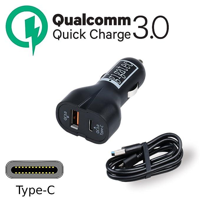 gigatec Quick Charge 3.0 Dual Cargador de coche 36 W + + con ...