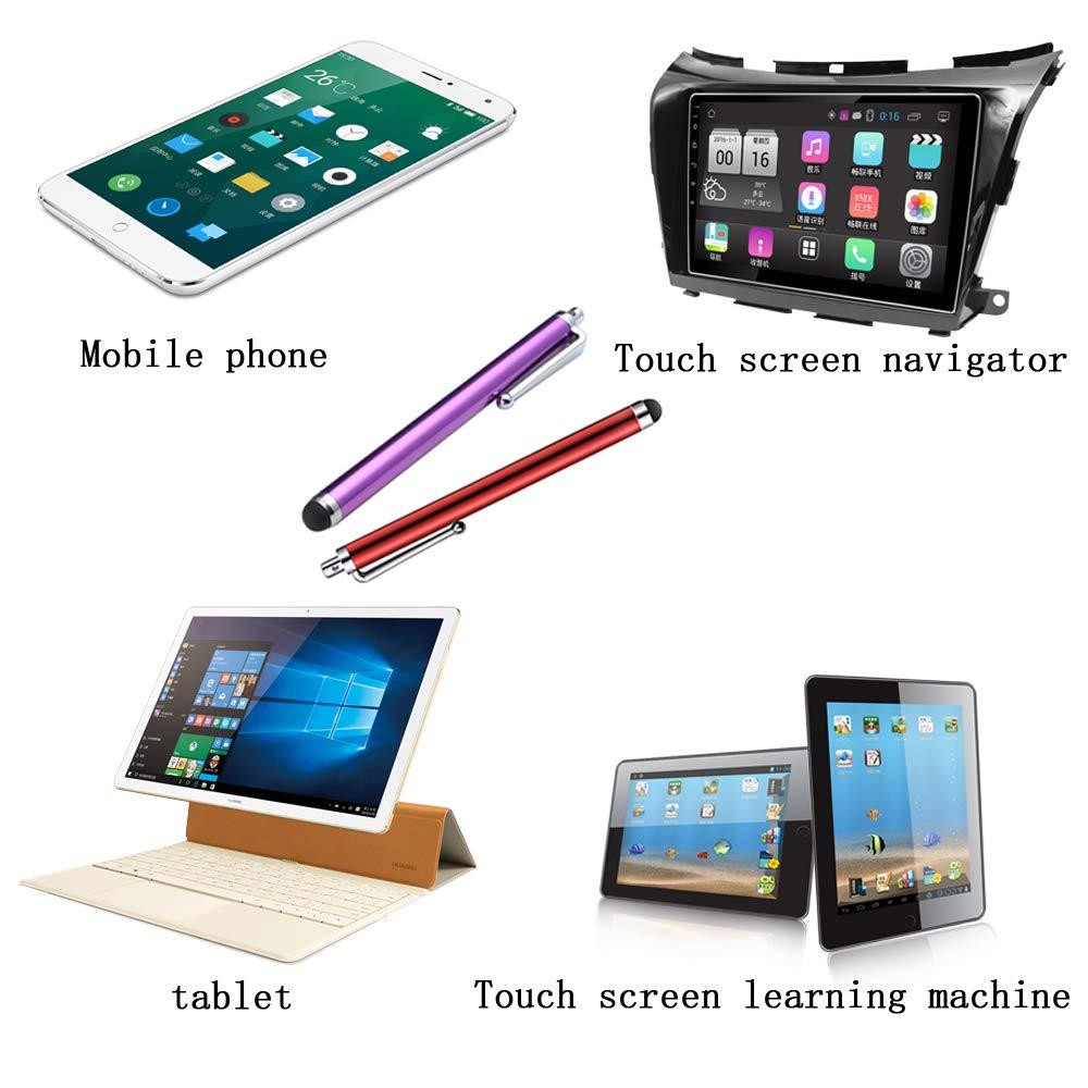 CKANDAY 21 Paquete Stylus Pen Set Pantalla t/áctil Universal Capacitivo Styli Compatible con Samsung Note S5 S6 S7 Edge S8 Plus Kindle de Tableta Digital 11 Colores